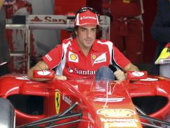 Spain's Fernando Alonso, third in the Formula One standings, won the Italian Grand Prix for Ferrari in 2010.