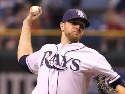 The Rays got a much-needed win thanks to the efforts of starter Wade Davis. Tampa Bay is chasing Boston in the AL wild-card race.