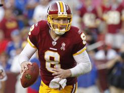 Rex Grossman threw for 305 yards and led the Redskins to their first home win over the Giants since 2005.