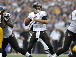 Joe Flacco and the Ravens had all the answers for the Steelers on Sunday.