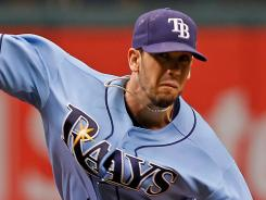 Tampa Bay Rays pitcher Jame Shields was sublime in a 9-1 win over the Boston Red Sox on Sunday.