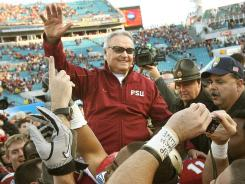 Bobby Bowden retired from Florida State after the 2009 season. His final game was a win in the Gator Bowl.