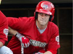 Washington Nationals outfielder Bryce Harper could help his cause of reaching the majors in 2012 with a strong AFL showing.