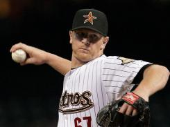Astros pitcher David Carpenter helped Houston to a 5-2 win over the Philadelphia Phillies on Tuesday. The loss prevented the Phillies from clinching a playoff berth.