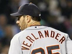 Justin Verlander won his 11th consecutive start and the Tigers won their 11th consecutive game.