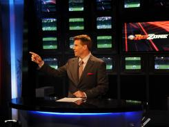 NFL Network Red Zone anchor Scott Hanson followed an atypical route to the network.