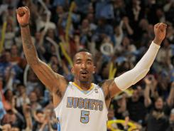 A seven-year NBA veteran, J.R. Smith signed a one-year deal with a team in the Chinese province of Zhejiang.