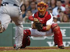 Boston catcher Jason Varitek will become a free agent at the end of the season. He hopes to lead the Red Sox on another postseason run this year.