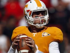 Tennessee sophomore Tyler Bray has seven TD passes and no interceptions heading into a meeting with No. 17 Florida in Gainesville.