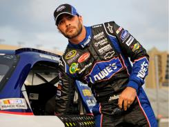 Jimmie Johnson has won five consecutive Sprint Cup championships and is sixth in points as the 2011 Chase begins Sunday in Chicago.