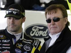 "Team owner Richard Childress, right, on accusations against driver Paul Menard: ""Anyone who knows Paul Menard, especially Jeff Gordon . . . knows him personally enough that if we had ordered it, which we did not, he wouldn't have done it because he's that type of person."""