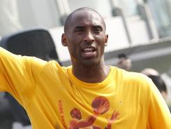 Kobe Bryant, at a youth basketball clinic in Singapore, says he doesn't know if there will be a 2011-12 season and hasn't ruled out playing abroad.