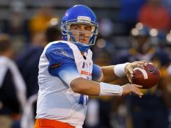 Kellen Moore threw for 455 yards on 32 of 42 passing and five touchdowns in Boise State's 40-15 blowout win over Toledo on Friday night.