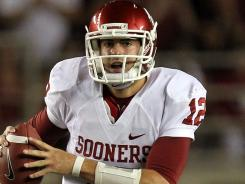 Landry Jones surpassed Sam Bradford as Oklahoma's most prolific passer as the Sooners topped Florida State 23-13 in Tallahassee.