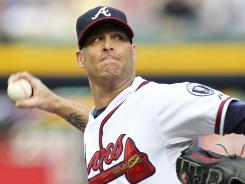 Tim Hudson struck out 10 in a shutout performance for the Braves. Atlanta topped the New York Mets 1-0 on Saturday.