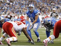 Detroit Lions quarterback Matthew Stafford is off to a hot start.