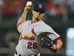 Kyle Lohse pitched seven-plus innings of one-run ball as the Cardinals won for the 10th time in their last 12 games.