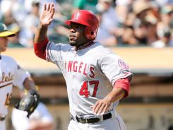 Los Angeles Angels second baseman Howie Kendrick has hit nine home runs over the past 31 days.