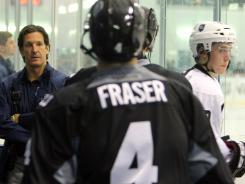 "New NHL discipline czar Brendan Shanahan will continue to oversee the research and development camp and other previous duties. ""I don't want to lock myself in a closet and just be watching video,"" he said."