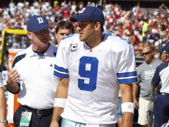 Tony Romo returned with a fractured rib and punctured lung to lead the Cowboys to a come-from-behind win over the 49ers.