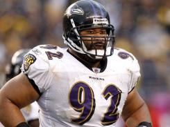 Ravens nose tackle Haloti Ngata signed a five-year, $61 million contract extension  Tuesday.