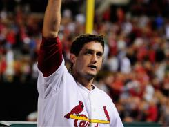 David Freese drove in five runs, including a three-run home run in the Cardinals' 6-5 win over the Mets on Wednesday. The Cardinals now trail the Braves by just 1 1/2 games in the NL wild-card race.