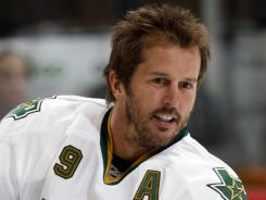 Mike Modano finished his career as the leading U.S.-born NHL scorer of all time.