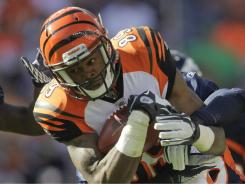 Bengals WR Jerome Simpson was a second-round pick in 2008. He has 29 career receptions.