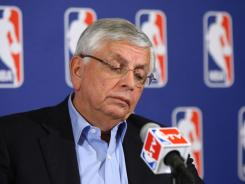 NBA Commissioner David Stern has been unable to reach a labor agreement with the players union, prompting the league to announce on Friday the postponement of training camps and 43 preseason games.
