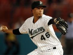 The Marlins placed closer Leo Nunez on the restricted list on Thursday and he isn't expected to pitch again in 2011. He finished the season witrh 36 saves and a 4.06 ERA.