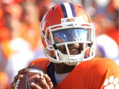 Clemson quarterback Tajh Boyd had his way with Florida State's defense, passing for 344 yards and three touchdowns and rushing for a score to help the No. 22 Tigers upset No. 14 Florida State.