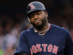 David Ortiz and the Boston Red Sox continue to watch their wild-card lead slip away after a 9-1 loss to the Yankees on Saturday. The Red Sox are 1 1/2 games ahead of the the Tampa Bay Rays in the wild-card standings.