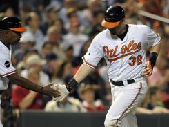 Matt Wieters' second-inning home run helped the Orioles beat the Red Sox for the fourth time in five games since Sept. 19.