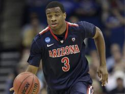 Arizona's Kevin Parrom averaged 5.5 points per game last season as the Wildcats advanced to the Elite Eight.