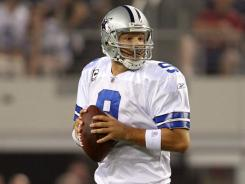 Eight days after suffering a fractured rib and punctured lung, Tony Romo threw for 255 yards in the Cowboys' Monday night win.