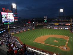 A hockey rink will be on the Citizens Bank Park field on Jan. 2 for the 2012 Winter Classic.