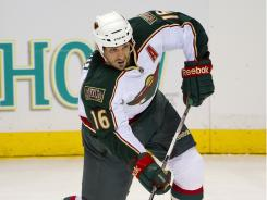 Minnesota Wild right wing Brad Staubitz will miss the rest of the preseason and the first three games of the regular season.