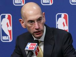 The NBA, including Deputy Commissioner Adam Silver, are set to resume labor talks with the locked-out players Tuesday.