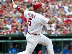 St. Louis Cardinals slugger an Albert Pujols started slow, but rewarded fantasy owners who stuck with him with a monster second half.