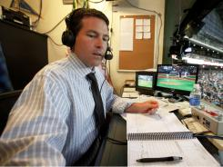 Brian Anderson will replace Ernie Johnson for TBS' coverage of the Major League Baseball playoffs.