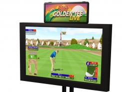 The Golden Tee LIVE video game.
