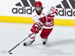 Hilary Knight enters her senior season at Wisconsin already owning the school career mark for goals.
