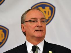 "Notre Dame athletic director Jack Swarbrick says there is ""widespread support"" in favor of raising the value of individual scholarships by as much as $2,000 in the top-tier Division I."