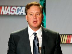 The main change in the 2012 schedule, announced by NASCAR and its CEO, Brian France, is a move of Talladega to the fourth playoff race (up from sixth).