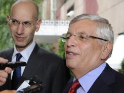 NBA Commissioner David Stern said no progress was made in Wednesday's talks in New York.