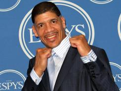 Dewey Bozella accepted  the Arthur Ashe Courage Award at the 2011 ESPY Awards in Los Angeles in July.