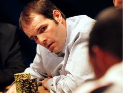 Howard Lederer, here during a Las Vegas tournament, is a co-owner of Full Tilt Poker, which is facing federal charges.