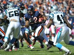 After getting 19 total carries for 51 yards the past two weeks, Matt Forte rushed 25 times for 205 yards in Week.
