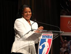 First-year WNBA President Laurel Richie brings more than 25 years of advertising and marketing experience to the league.