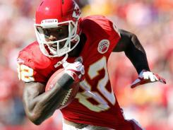 Kansas City Chiefs receiver Dwayne Bowe  should exploit a porous Colts' defense.